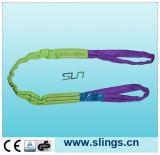 Estilingue redondo da fibra de Sln Synthectic com olhos