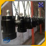 Double cylindre hydraulique de Rod