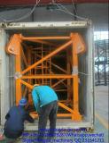 Carga máxima de Wih do guindaste de torre 3 toneladas a 25 toneladas