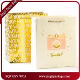 熱い押すホイルのギフトはギフトの紙袋の特別な処理のギフト袋を袋に入れる