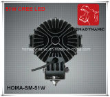 7 luz de conducción campo a través de la luz LED de la luz LED del trabajo de la pulgada 51W LED