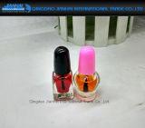 Botella cosmética de cristal de la nueva belleza para el almacenaje del polaco de clavo