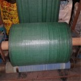 schwarzes grünes Polypropylen gesponnener Zaun der Feinkohle-70GSM