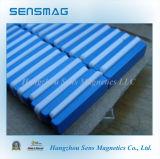 Магниты NdFeB постоянных магнитов с голубым тефлоном покрытый