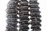 tessuto brasiliano dei capelli di colore naturale profondo dell'onda dei capelli di 8A Remy