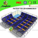 上の販売によって特許を取られるデザイン大きいトランポリン