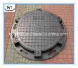 OEMの鉄の鋳造En124 B125の延性がある鉄のマンホールカバー