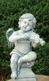 ヨーロッパ式のガラス繊維の物質的な彫像、天使