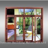 Frames de alumínio para portas revestidas/anodizadas do pó