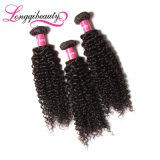 O cabelo brasileiro ondulado Curly barato o mais de alta qualidade do Virgin