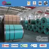 Bobina dell'acciaio inossidabile (201 304 321 316 316L 310S 904L) con Ce