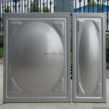 Tanque de água secional da soldadura do tanque de água do painel do aço inoxidável
