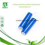 Cellule di batteria del litio 18650 3.7V 2000 2200 2600mAh per la torcia elettrica