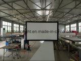 Heimkino-Projektor-Bildschirm des örtlich festgelegter Rahmen-Bildschirm-HD