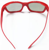 2016 modo 2 Layers Red Frame Home Theatre \ 3D Passive TV Passive Circular Polarized 3D Glasses