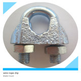索具Hardware Galvanized DIN741 Malleable Steel Wire Rope ClipかClamp