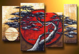 Modern Handmade Canvas Art Work Landscape Oil Painting (LA4-005)