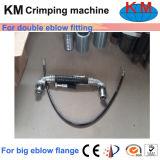 Machine sertissante alimentante latérale Km-85A-51 de boyau qualifiée par ce