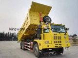 HOWO 상표 광업 덤프 트럭