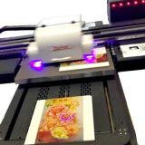 Il fornitore produce l'uso a base piatta UV della stampante 60*90cm di piccolo formato LED per di vetro/di ceramica/Metal/PVC la maggior parte dei generi materiali