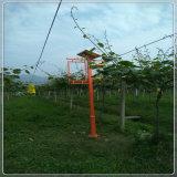 Lampe solaire de tueur d'insecte de commande légère de commande intelligente de pluie