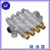 Do distribuidor ajustável pneumático do petróleo de 6 maneiras do bronze do ar distribuidor de regulamento