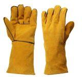 Отрежьте перчатки безопасности руки заварки упорной безопасности кожаный работая защитные