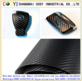 involucro del vinile della fibra del carbonio 3D per il motociclo e l'automobile con buona qualità per la decorazione