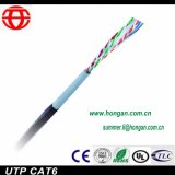 Cable UTP Cat 6 para comunicaciones digitales de alta calidad