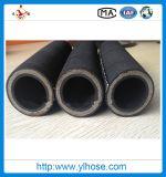 4sh 3/8 s'est développé en spirales le boyau hydraulique en caoutchouc