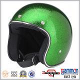 素晴らしいPailletteの開いた表面Harleyのオートバイのヘルメット(OP237)