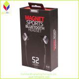 Earphone를 위한 호화스러운 Design Paper Packaging Black Rigid Box