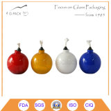 다채로운 유리제 기름 또는 등유 테이블 램프