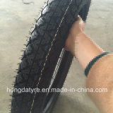 Ägypten-heißer neuer Muster Emark Bescheinigungs-Motorrad-Reifen-Gummireifen 3.25-18