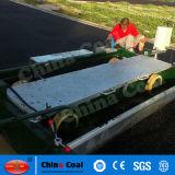 Pequeña máquina de la pavimentadora para la pista corriente