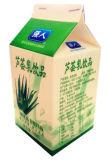 caixa/caixa da parte superior do frontão do B-Estilo 500ml para o suco/creme/vinho/iogurte/água do leite