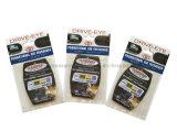Perfume auto popular modificado para requisitos particulares, ambientador de aire de papel del coche para el desodorisante