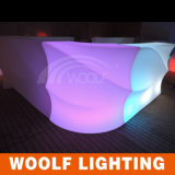 중국 Brand Woolf Company LED Illumated 바 카운터 가구