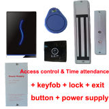 Time Attendance를 가진 TCP/IP Network Standalone RFID Door Access Control
