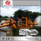 bomba de água 6inch Diesel para a irrigação/drenagem da inundação com alta pressão