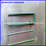 Сопротивление ржавчины гальванизировало тип штапеля стального провода u SOD