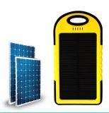 Portable dual vendedor caliente 2016 batería impermeable de la energía solar de 6000 mAh