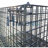 Lager-faltende Speicher-Maschendraht-Stahlrahmen