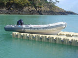 Aqualand 16feet los 4.7m Rigid Inflatable Boat/River Motor Boat (RIB470A)