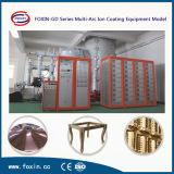 Pianta di titanio della macchina di rivestimento del tubo PVD della mobilia dello strato dell'acciaio inossidabile