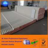 Super Bestand Alumina Ceramische die Rol Op hoge temperatuur voor de Oven van de Tegels van de Vloer wordt gebruikt