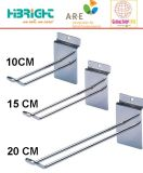 Крюк индикации розницы стального провода металла Supermarekt
