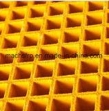 """Antideslizante de fibra de vidrio / GRP Calzada Grating 1-1 / 2"""" de espesor, 1-1 / 2"""" cuadrado de malla Grating"""