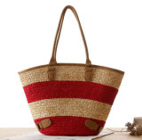 Grande capienza Beach Straw Bag Woven Bag Casual