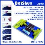 Kit de herramientas sin tubo de la reparación del neumático plano de la bici del coche con los enchufes